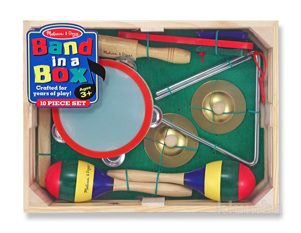 Детские музыкальные инструменты, набор музыкальных инструментов фото №1