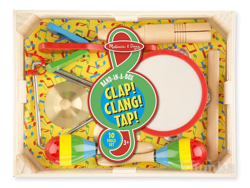 Детские музыкальные инструменты, набор музыкальных инструментов фото №2