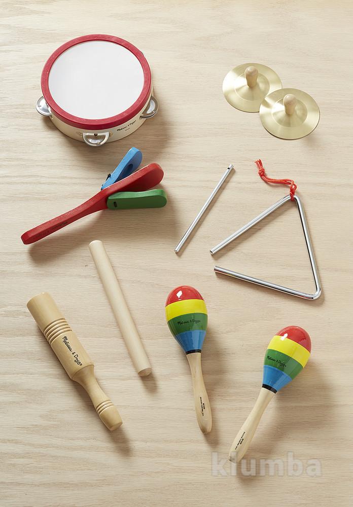 Детские музыкальные инструменты, набор музыкальных инструментов фото №3