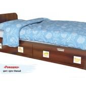 Гарантия 2 года! Кровать Ромашка 2 ящ., 120х190 см, укр. производство