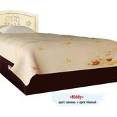 Гарантия 2 года! Кровать Kiddy №1, 2 ящика, 90x190 см, укр. производство