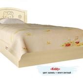 Гарантия 2 года! Кровать Kiddy №2, 2 ящика, 70x140 см, укр. производство