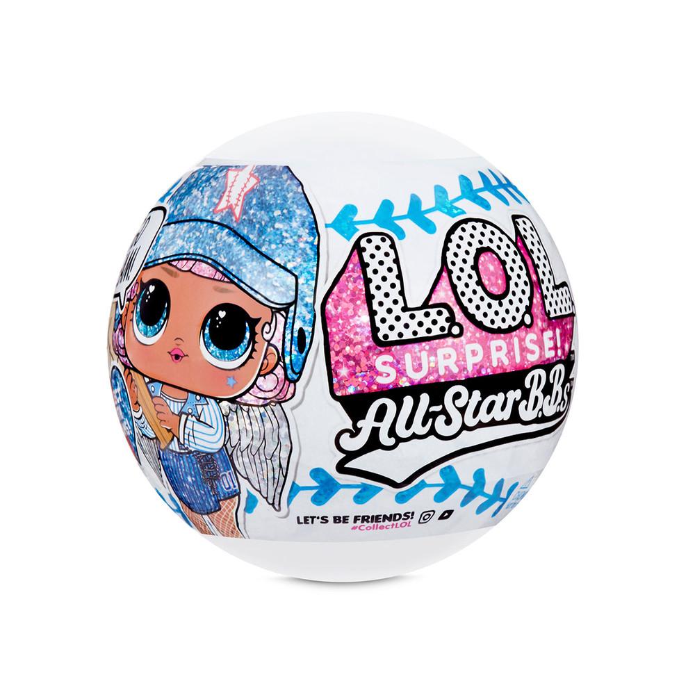L.o.l. surprise игровой набор с куклой lol серии спортивная команда l. o. l all-star b.b.s кукла лол фото №1