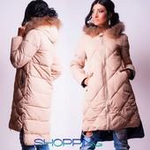 Пальто теплое халлофайбер р-ры 42,44,46