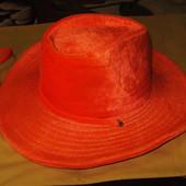Шляпа оранжевая театральная/карнавальная