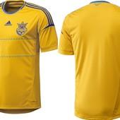 Футболка сборной Украины Adidas FFU home jsy оригинал