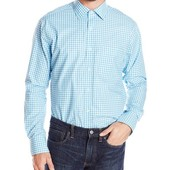акция 290грн.!!! мужская рубашка American icon размер XL-ХХL цвет голубой в клетку