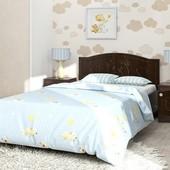 Гарантия 2 года! Кровать Мишка №4 без ящиков, 70x140 см, укр. производство