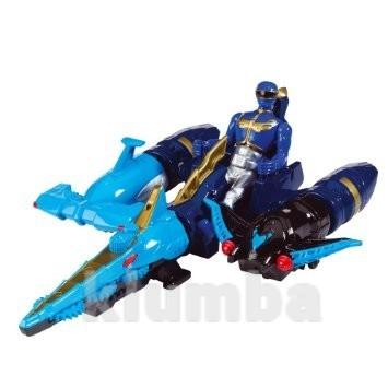 Фигурка bandai power rangers sea zord синий рейнджер 10 см (35082) фото №1