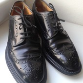Английские классические туфли,оксфорды,броги Church's, Made in England