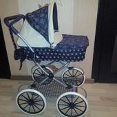 Детская ретро-коляска Lovely