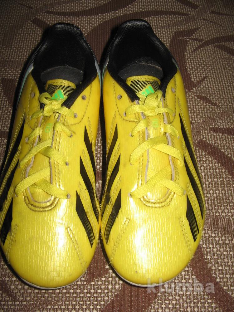 Бутси (копочки, бутсы) adidas 32 р. стелька 20 см. камбоджа фото №1