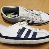 Кожаные кроссовки Adidas Neo(оригинал)р.41-26см.