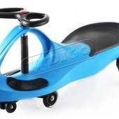 + видео!!! машинка Smart сar pu синя полиуретан.колеса. SM-BP
