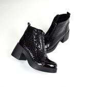 Ботиночки Деми  с расклешенным каблуком