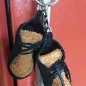 Брелок ботинки кожа