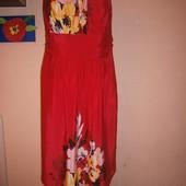 George платье женское красное