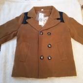 Пальто на мальчика 4-5 лет