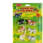 Распродажа - Набор фигурок Дикие животные от Малыши