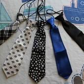 Детский галстук (новый, один на на выбор), 1-7 лет, разные цвета
