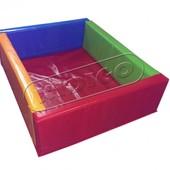 Игровой центр, Сухой бассейн кidigo Квадрат 1,5 м. артикул mmsb5