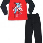 Пижама теплая и тонка  для мальчика Бетман Капитан Америка Микки Маус