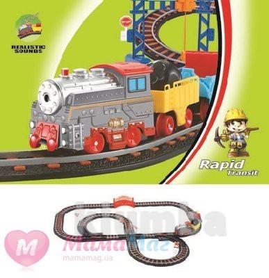 Железная дорога, детская, жд дорога, залізнична дорога, паровоз, потяг фото №1