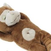 Мягкая игрушка спящая обезьянка, зайка от  Y.L сплюшка