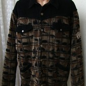 Куртка утепленная демисезонная вельвет бренд Uncle Sam р.54 №4679а