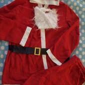 Мужской карнавальный костюм Санта р.l