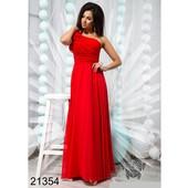Стильное вечернее платье 42/46р(Размер универсальный).21354
