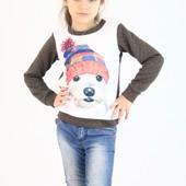 Детский свитшот для девочки