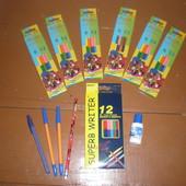 Щоденник для першого класу,пенали різні,олівці
