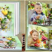 Фотокнига 5 разворотов+обложка в эл виде! Быстро! Качественно! Смотрим примеры!