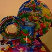 Детские наборы посуды - новая серия