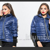 Теплая  курточка куртка пуховик 44-46