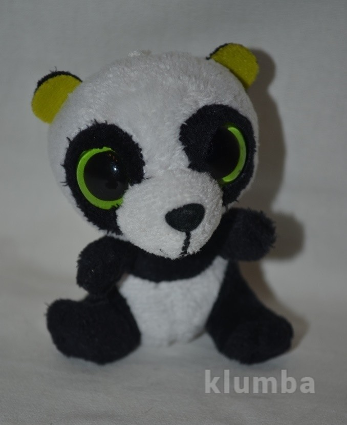 Ty милейшая панда мишка медведь глазастик фото №1