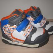 Новые кроссовки для мальчика b&g LD1115-7816 ботиночки, р. 22-27