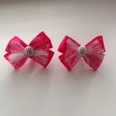 Резиночки для маленьких принцесс!лот-1пара( на выбор)+8грн.укрпочта