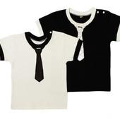 Рубашка для мальчика с галстуком с коротким рукавом