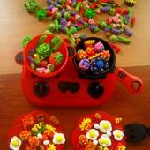 Мини-продукты: еда,овощи и фрукты для игр или Барби.Набор из 20шт. Детки будут довольны! Много фото.