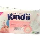 Серветки вологі / Салфетки влажные Cleanic Kindii, 60 шт.
