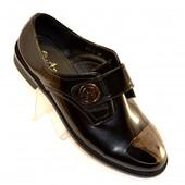 Оригинальные осенние туфли FD-5 blk
