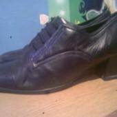 туфли разные кожа