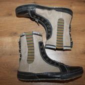 Кожаные ботинки / кеды San Marina (25 см)