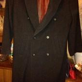 мужское кашемировое пальто состояние нового