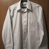 """Рубашка коттоновая светлая """"Terminal"""" в отличном состоянии, Размер 39, Уп 13грн"""