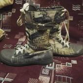 Ботиночки -кеды, деми 35р