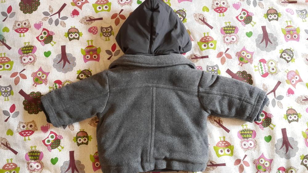 Теплая куртка prenatal, 3-6 мес (59-65 см) фото №4