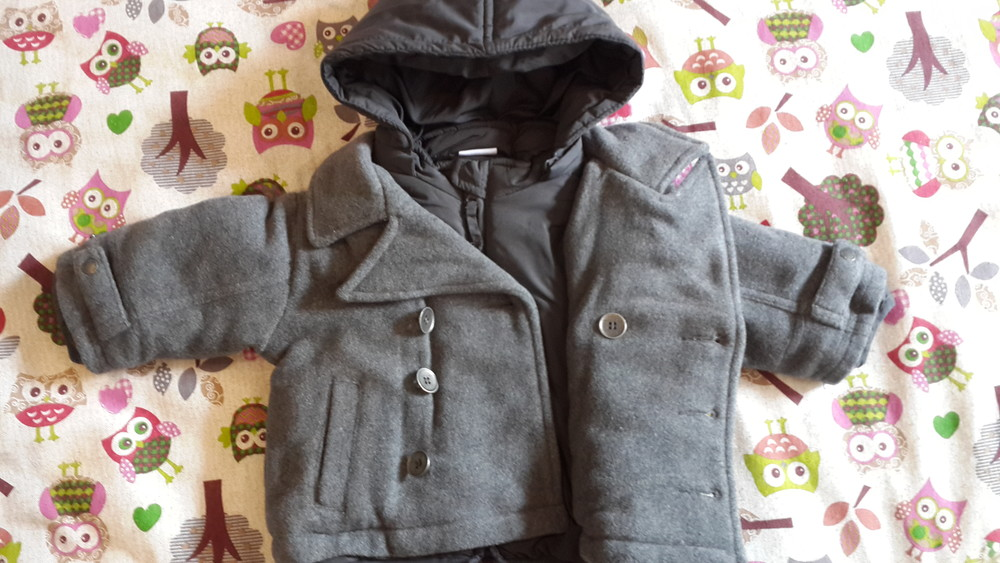 Теплая куртка prenatal, 3-6 мес (59-65 см) фото №5